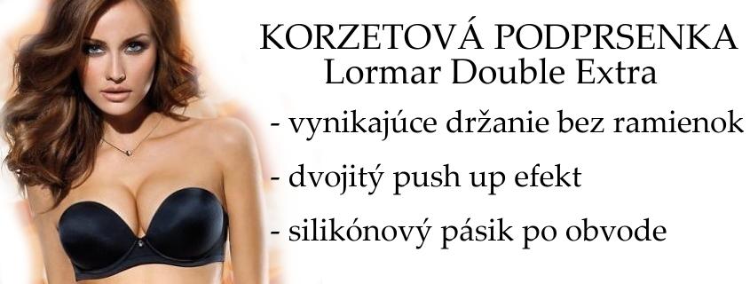 Podprsenka Lormar Double Extra