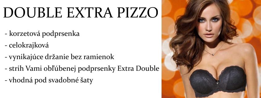 Podprsenka Lormar Double Extra Pizzo