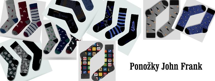 Ponožky John Frank