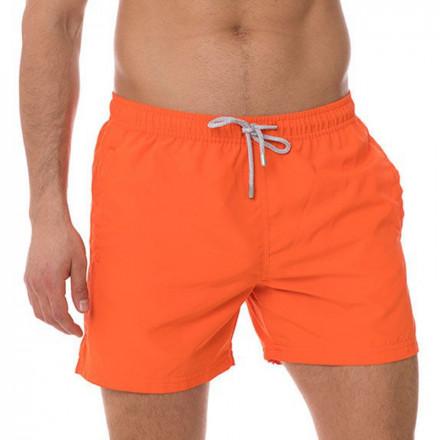 Pánske plavkové šortky John Frank JFSS19SW01 - oranžová