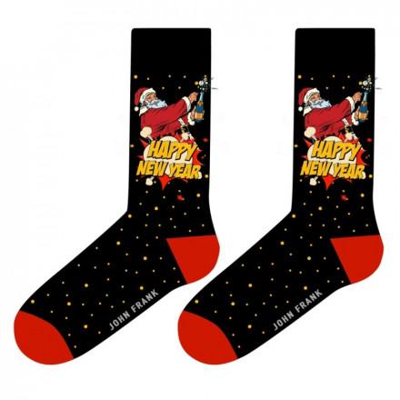 Pánske ponožky John Frank JFLSFUN-CH23