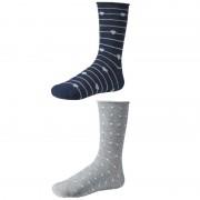 Dámske ponožky Ysabel Mora 12613 - 2 pack - modrá