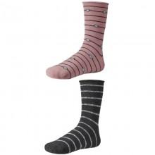 Dámske ponožky Ysabel Mora 12613 - 2 pack - ružová