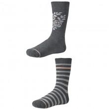 Dámske ponožky Ysabel Mora 12622 - 2 pack - šedá